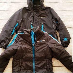 ‼SOLD Zero Xposure 2 in 1 coat